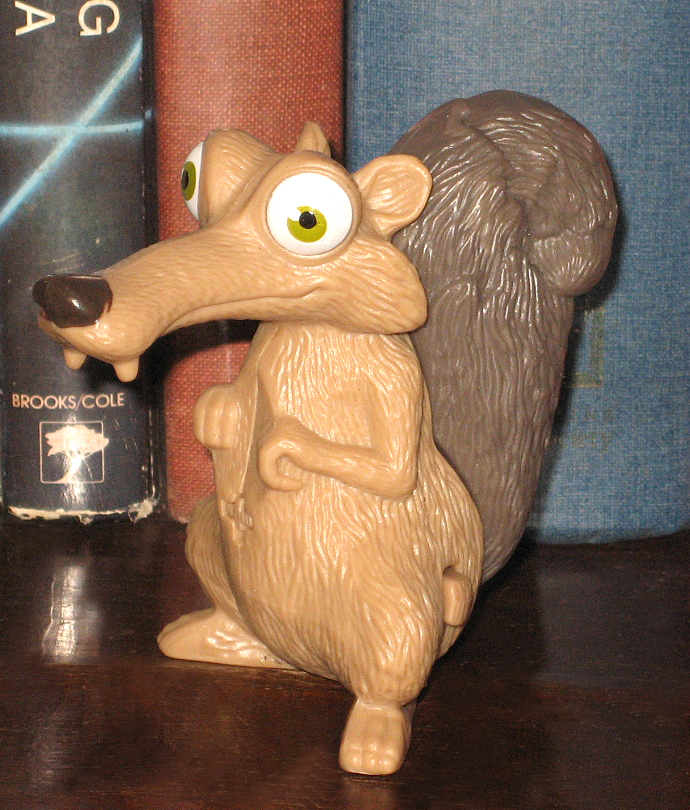 Toys From Ice Age 1 : Percy s fast food toy stories scrat ice age mcd