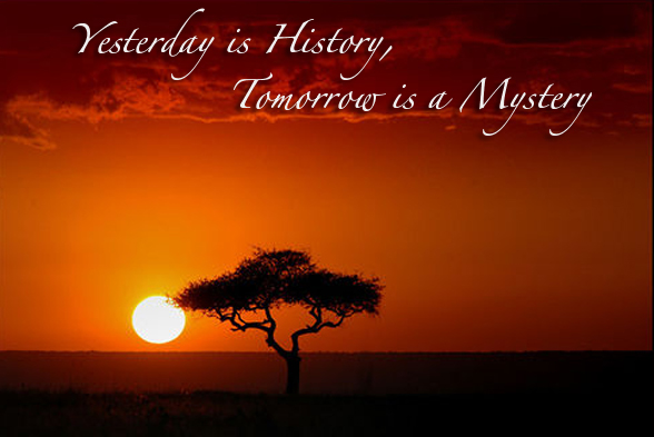 Terroism Yesterday, Future & Chronology