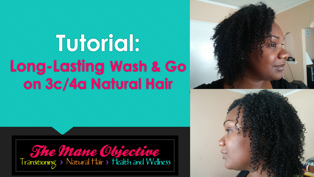 The Mane Objective Tutorial Wash And Go On Type 3c4a