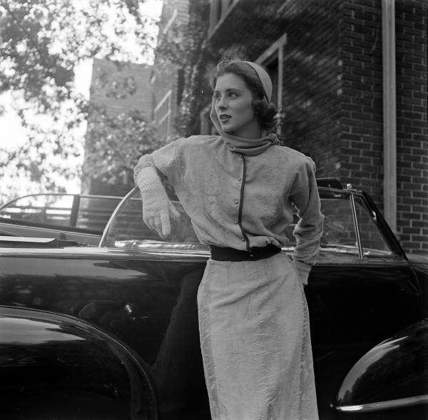 1950s Driving Outfit #vintage #1950s #outfit #fashion #style