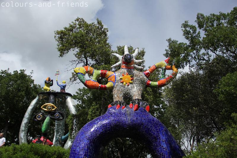 Tarot Garten Niki de Saint Halle