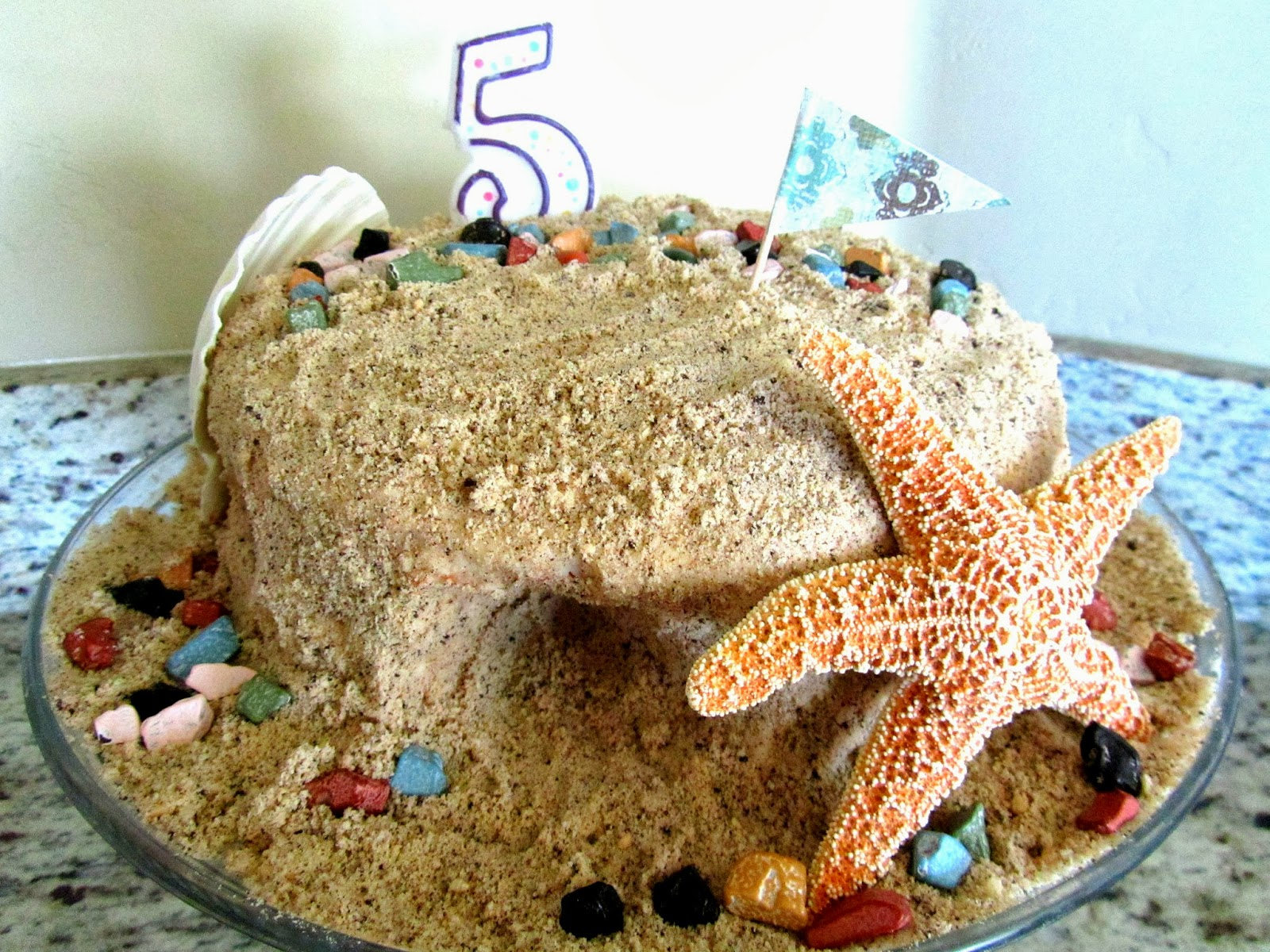 Sandcastle Cake Pinning With Purpose