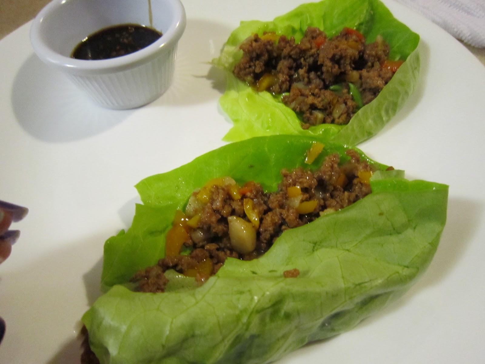 Chicken Lettuce Wraps (but it's not chicken!)