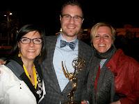 photo de Martine Donboly, Pietro Gagliano et Urszula Gleisner, MIPTV 2012
