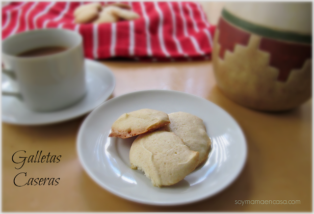 receta galletas caseras