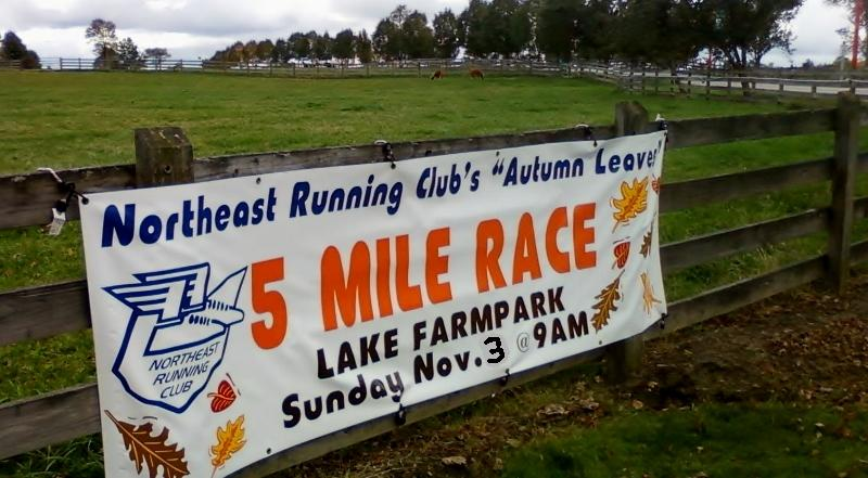 Autumn Leaves 5 Mile Race presented by Second Sole at Lake Farmpark