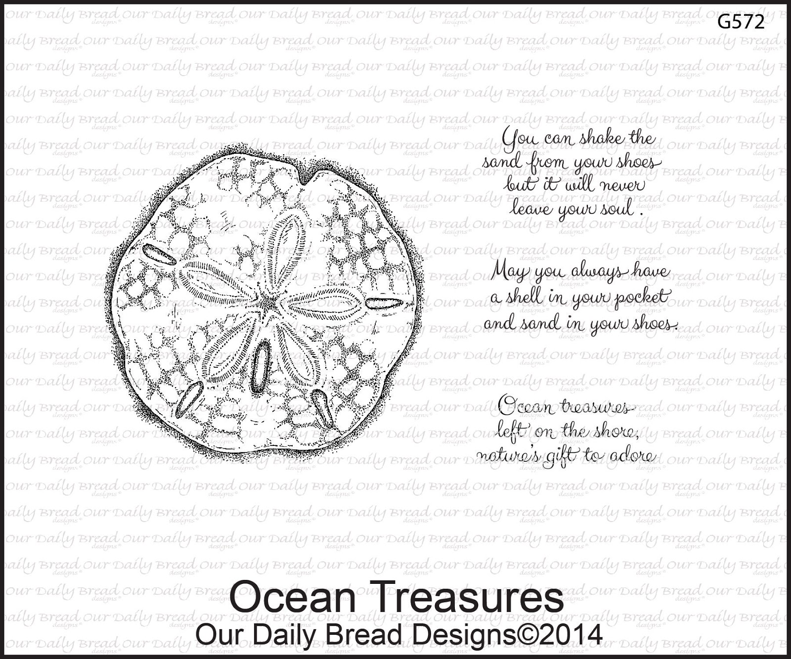 Stamps - Our Daily Bread Designs Ocean Treasures