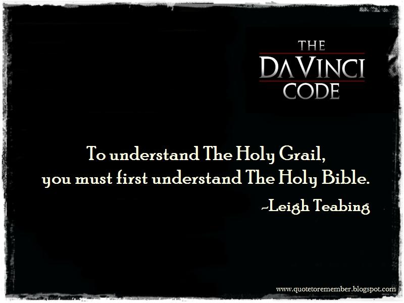 Quote To Remember The Da Vinci Code 2006