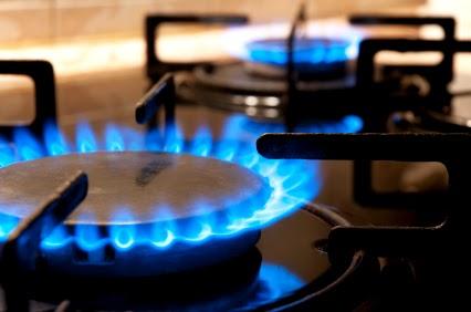 Burners on stove