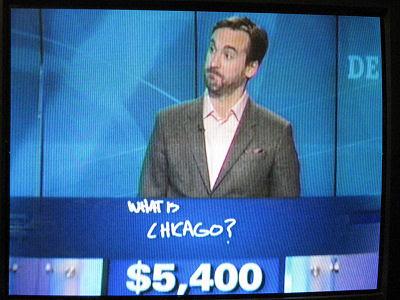 Jeopardy match Watson, Ken Jennings, Brad Rutter