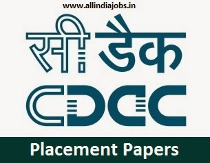 CDAC Placement Papers