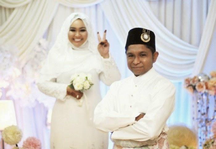 Amir Raja Lawak dan Nur Intan Syafinaz Selamat Bergelar Suami Isteri