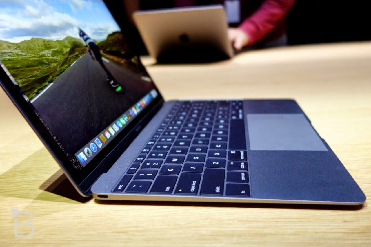 The New Macbook is Slotted