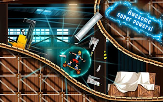 Screenshots of the Extreme Skater for Android tablet, phone.