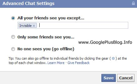 How To Hide Yourself On Facebook Chat