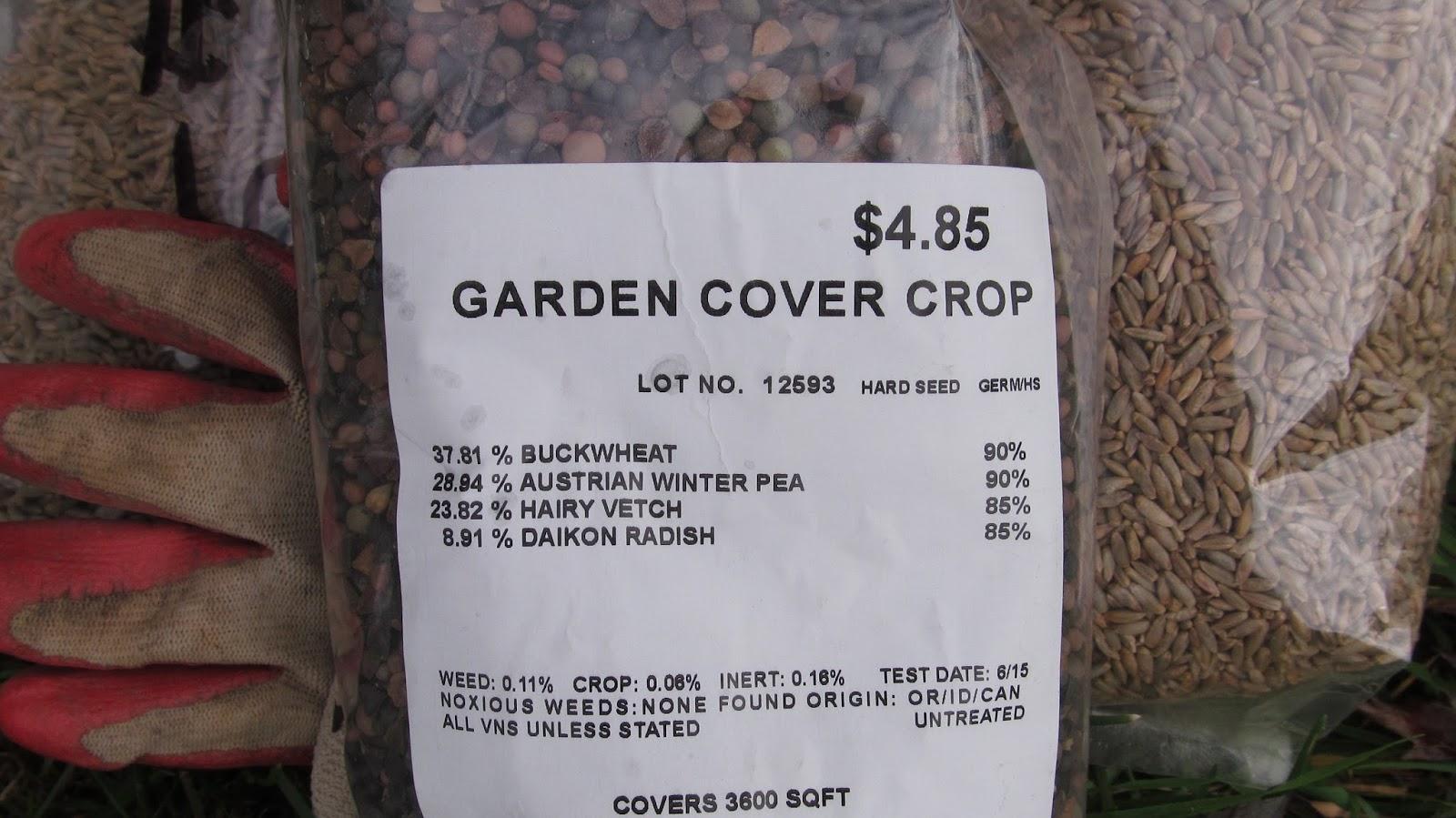 ohiofarmgirl u0027s adventures in the good land planting cover crops