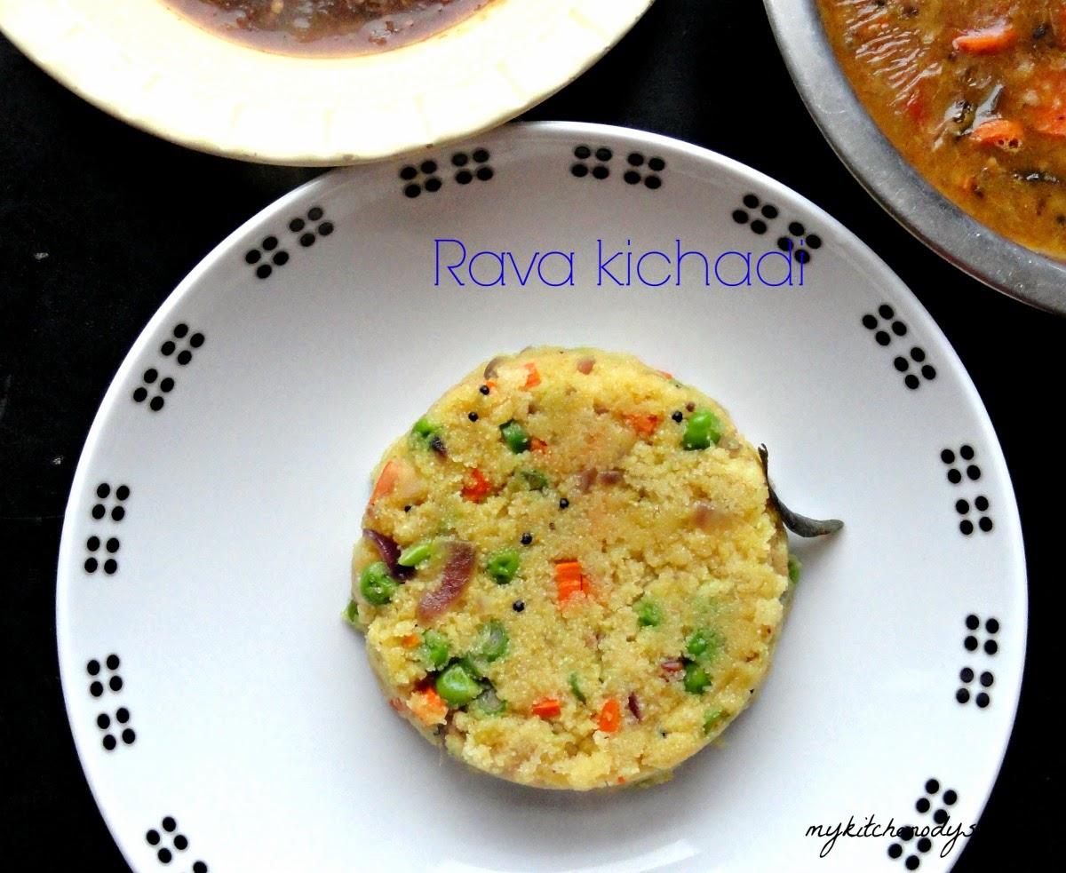 Rava Kichadi