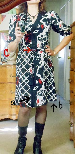 Redo's, dress redo, thrifted dress