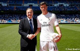 Foto bale real madrid 4 Foto Gareth Bale Berkostum Real Madrid