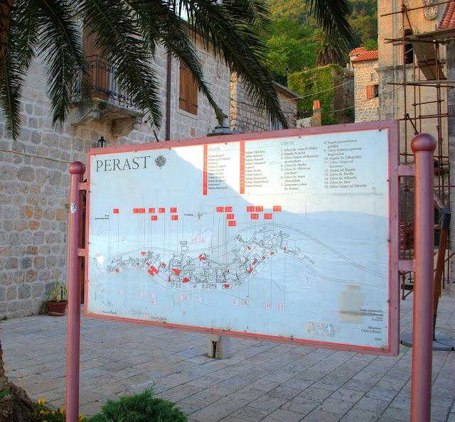 Карта Пераста