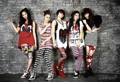 Profil+dan+Biodata+4Minute 10 Girlband Korea Paling Cantik