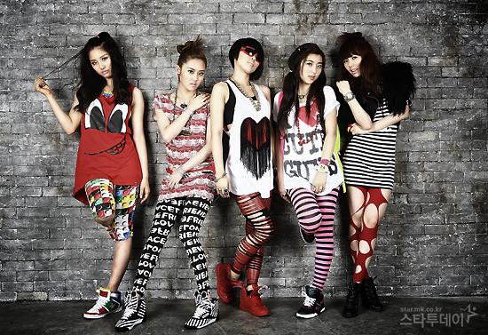 Daftar Hobi Girls Band 4minute