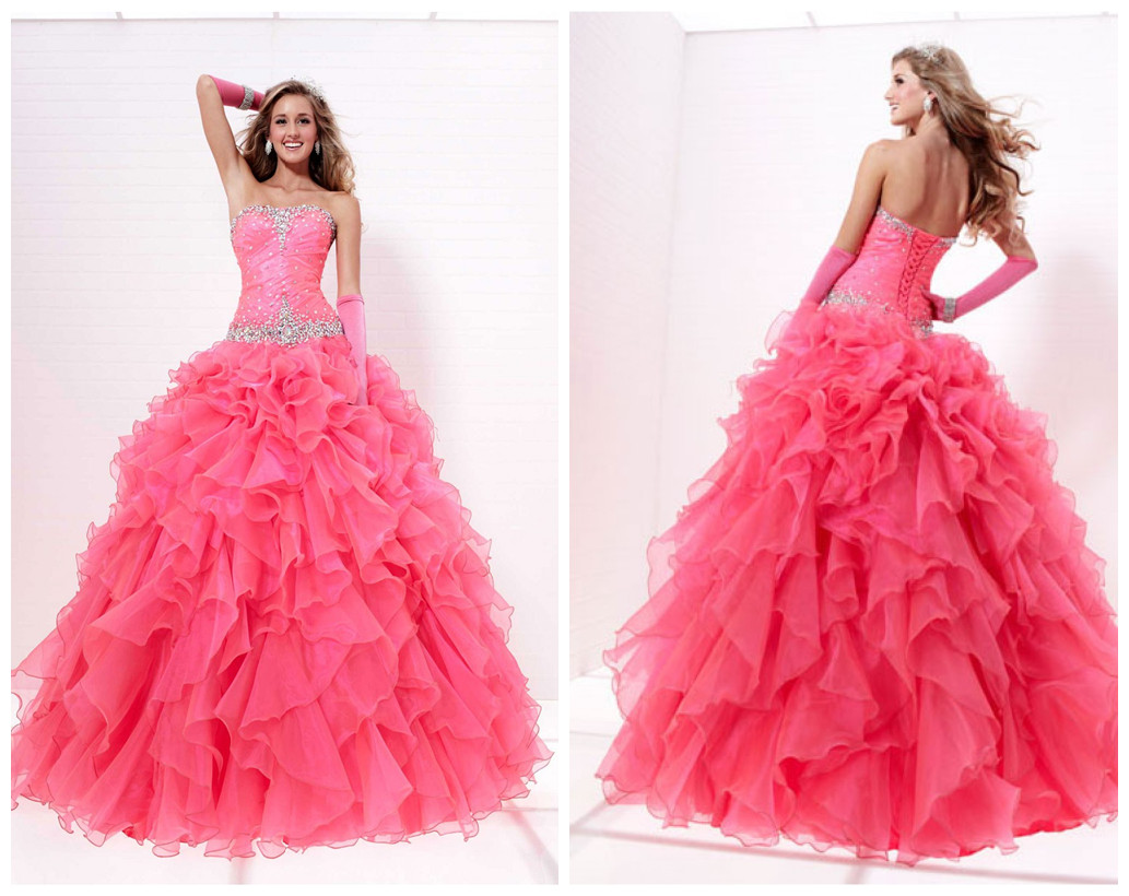 Magic Prom Party: Top 5 Hot Sale Ball Gown Prom Dresses Online