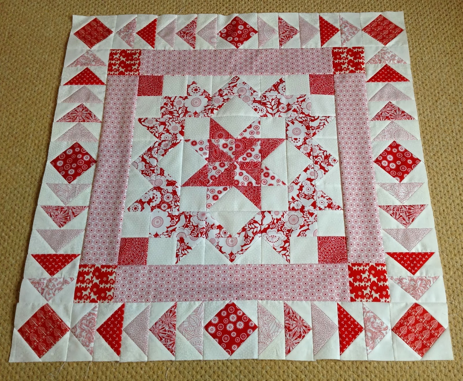 Sew Me: Mystery Medallion Quilt - Border 2 : quilt border - Adamdwight.com