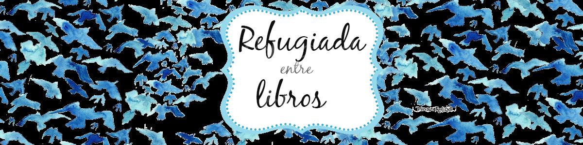 Refugiada entre libros
