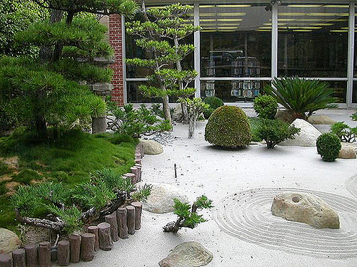 Mundo japon jard n japones - Arena jardin zen ...