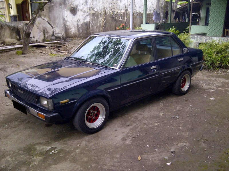 modifikasi toyota corolla dx 1981