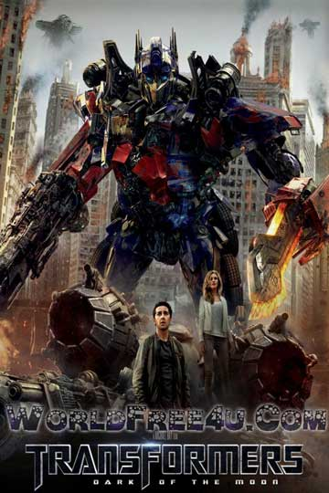 Poster Of Transformers 3 (2011) In Hindi English Dual Audio 300MB Compressed Small Size Pc Movie Free Download Only At worldfree4u.com