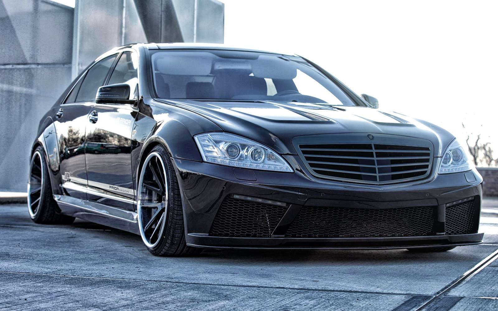mercedes benz w221 s class vip style by prior design benztuning. Black Bedroom Furniture Sets. Home Design Ideas