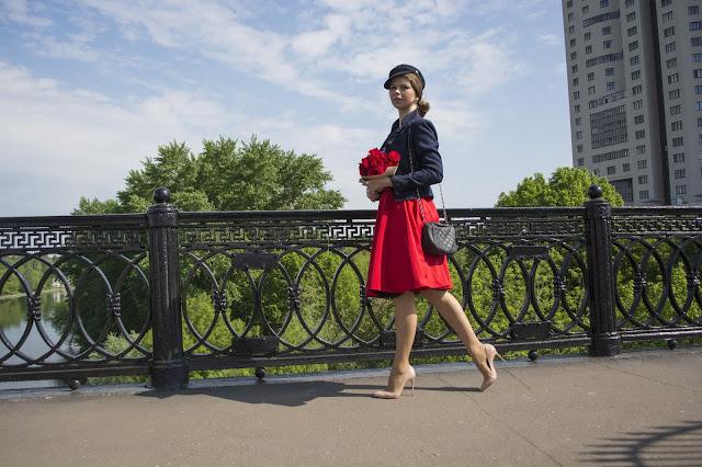 street style образ француженки