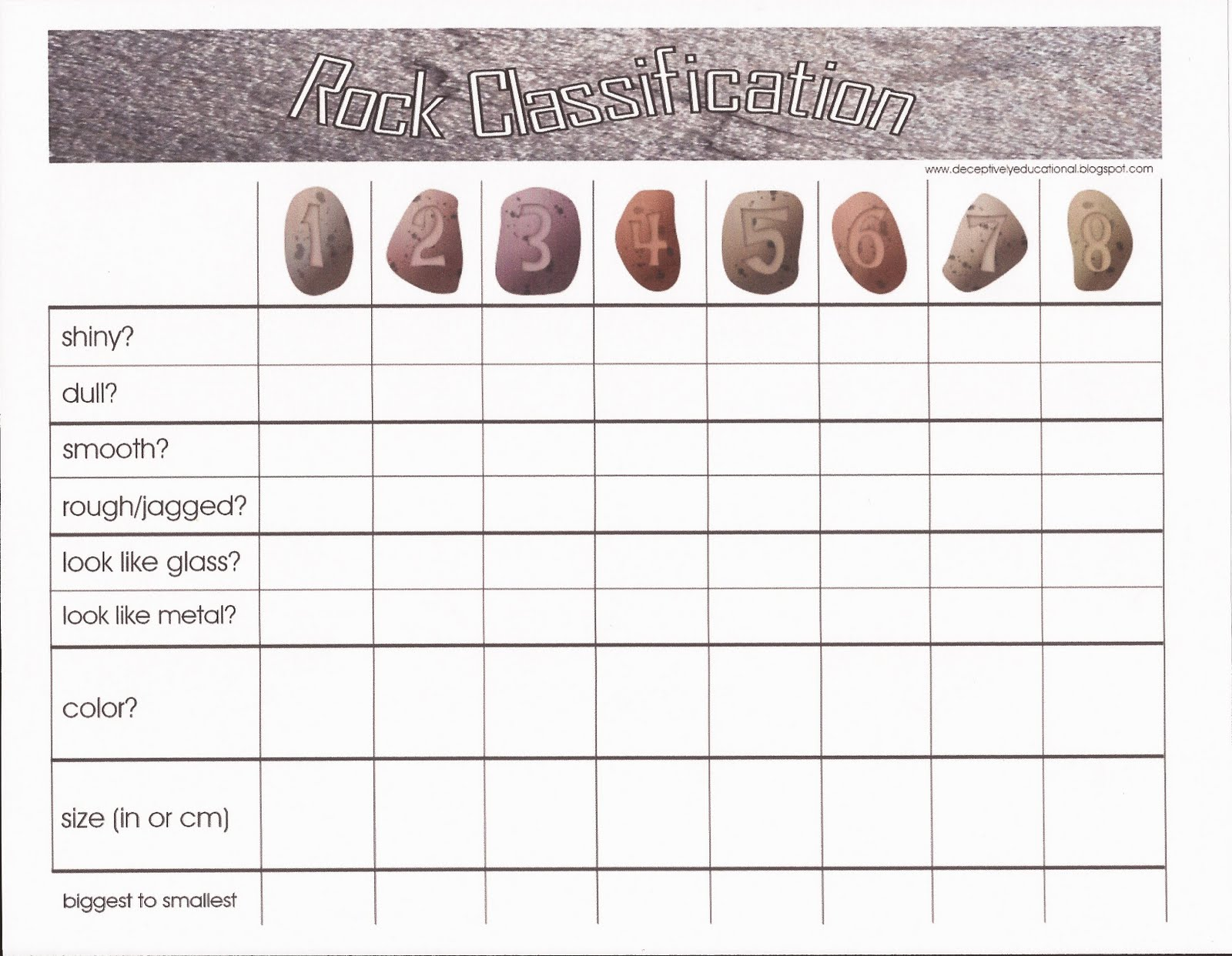 Relentlessly Fun Deceptively Educational Backyard Rock – Sedimentary Rock Worksheet