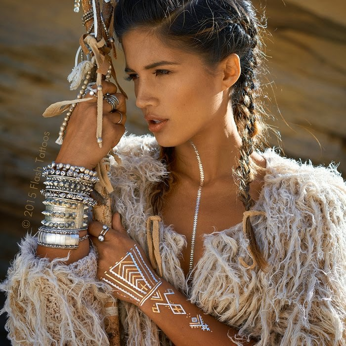 Modele Tatouage Indien Amerique