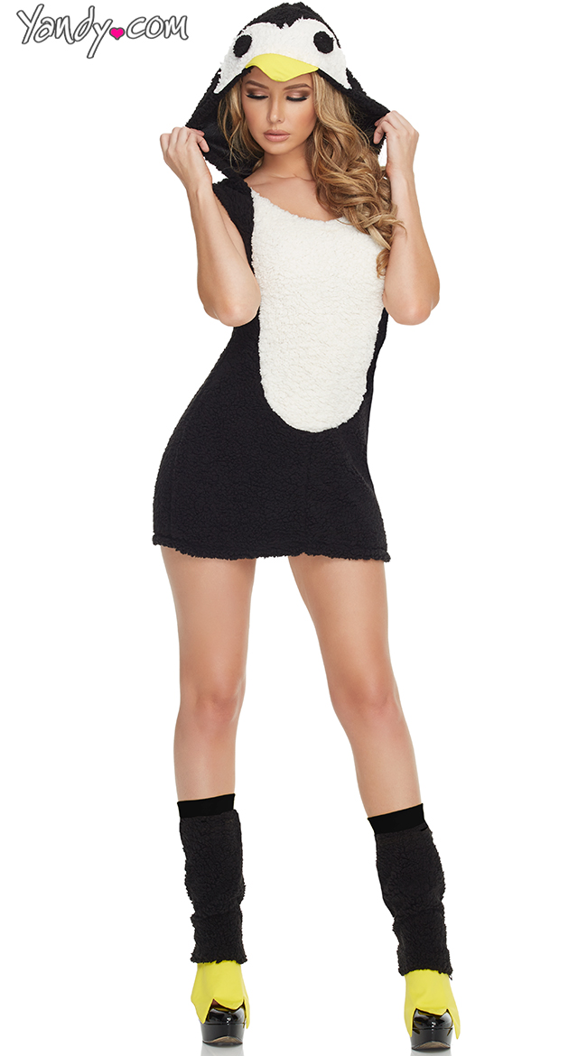 Sexy penguin costume for women