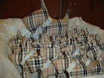 BOMBONIERE SCOTTY DOG - BURBERRY STYLE