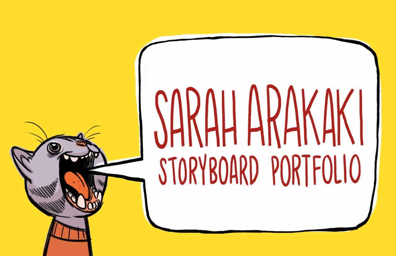 Sarah Arakaki Story Portfolio