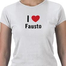 Yo amo a mi primito Fausto, que digo primo. Mi hermanito Fausto