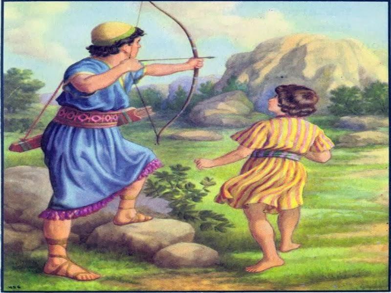 HISTORIAS BIBLICAS PARA NIÑOS: LA AMISTAD DE DAVID Y JONATAN