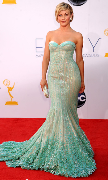 Julianne Hough Emmys Gown, Georges Hobeika, Emmys 2012