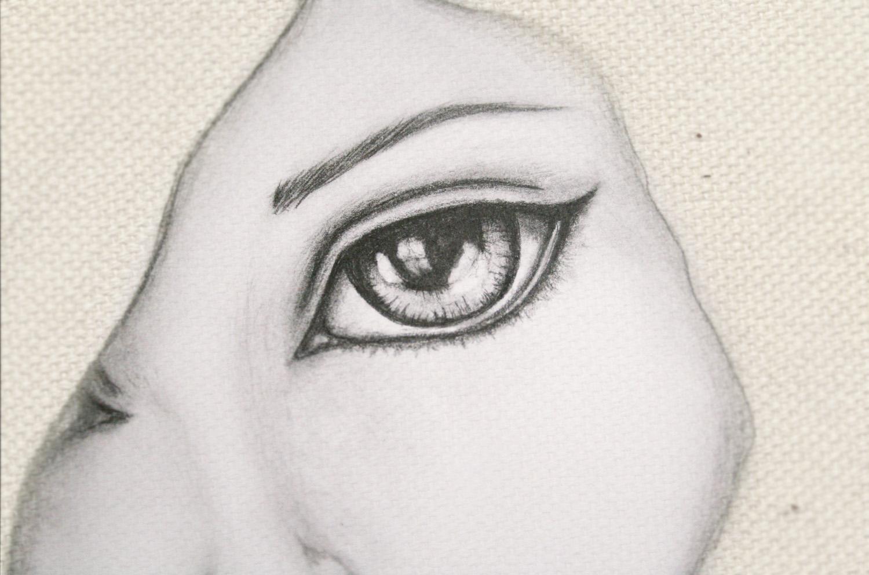 Dibujos A Lápiz De Ojos