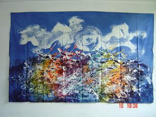 jual lukisan batik di pontianak