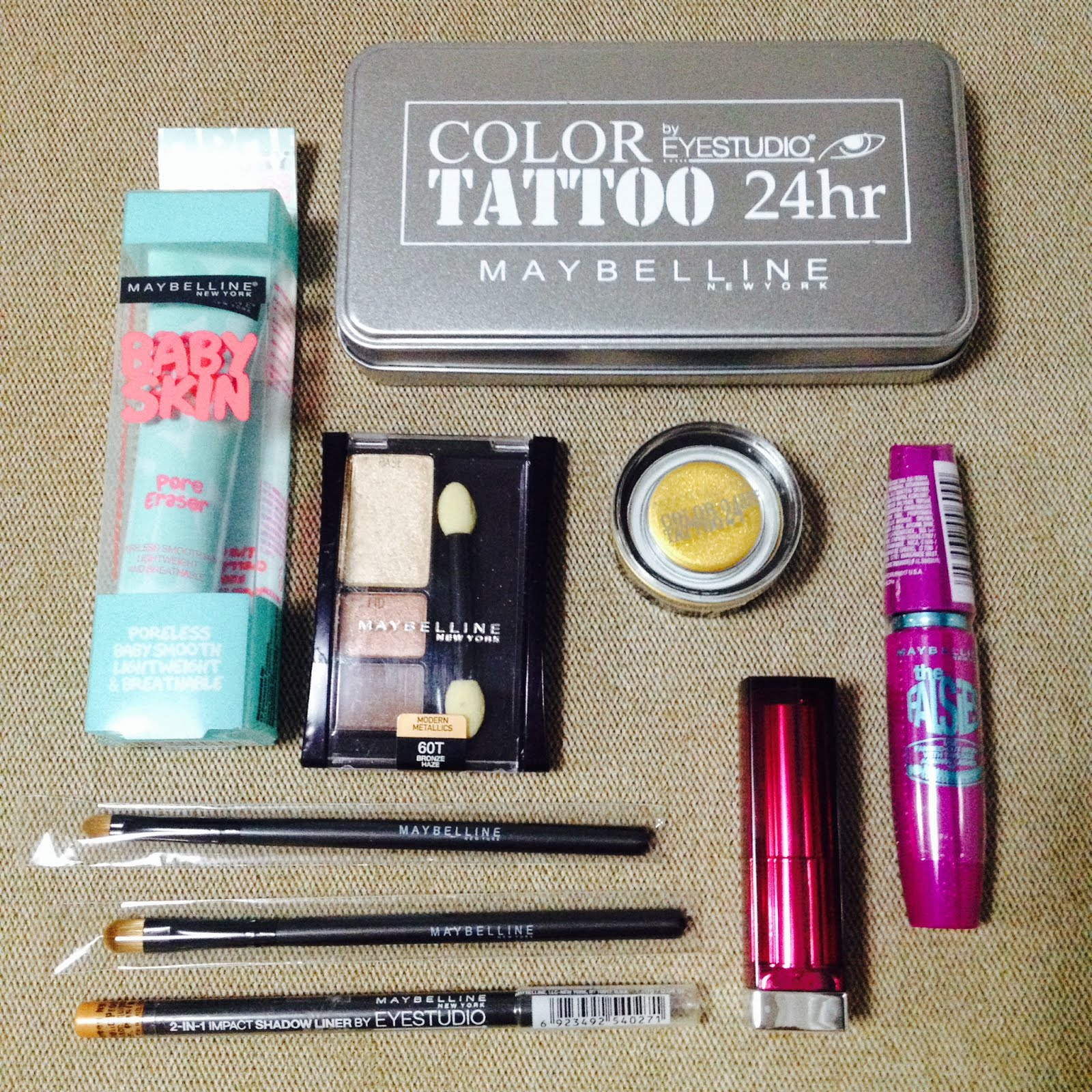 Maybelline Giveaway!