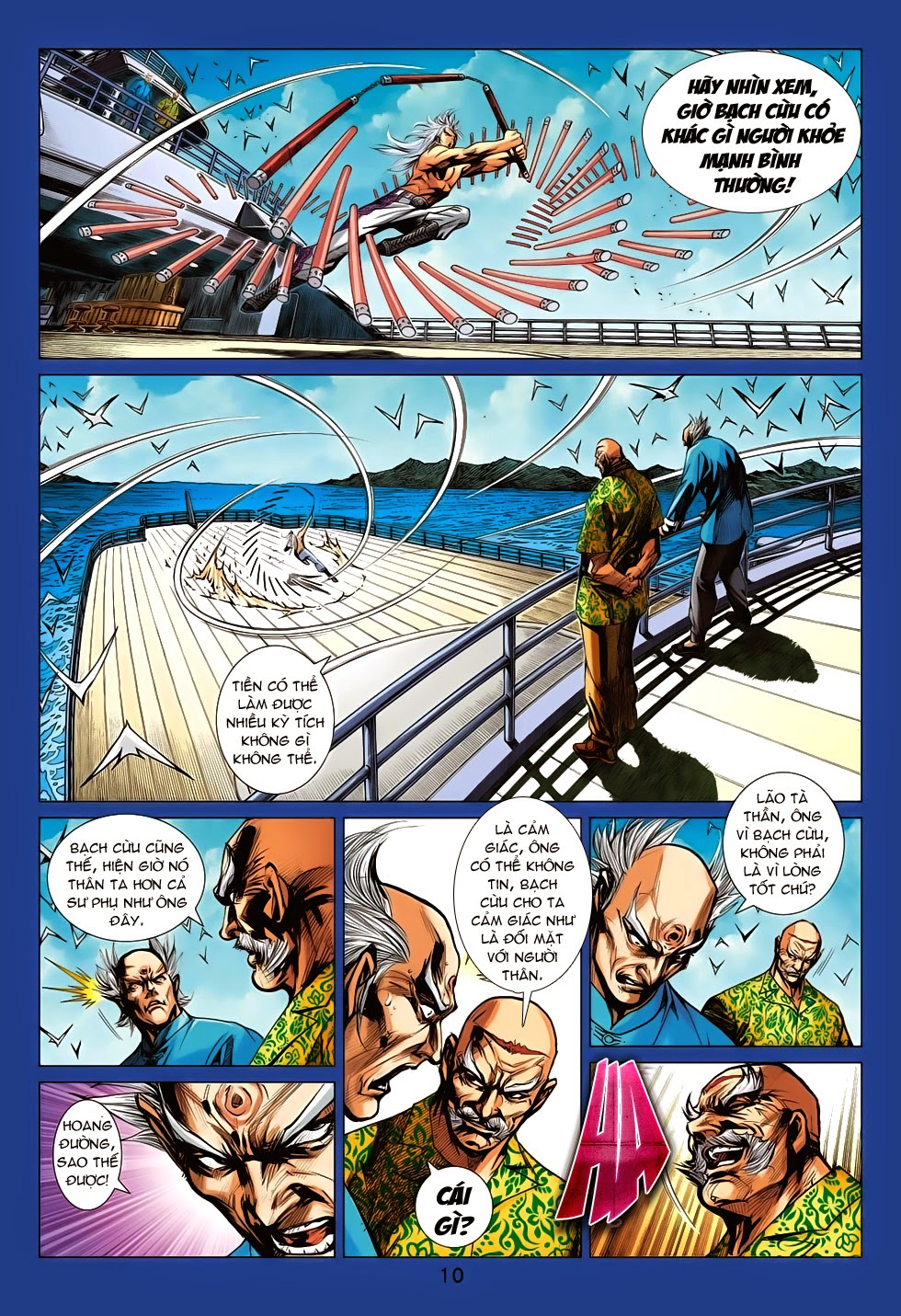 Tân Tác Long Hổ Môn chap 708 - Trang 11