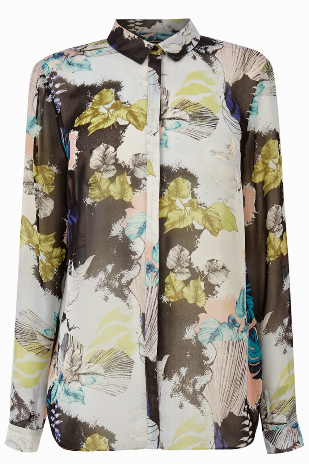 warehouse floral shirt