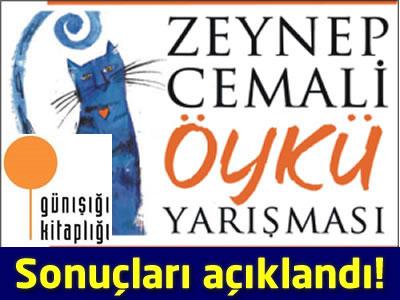 Zeynep Cemali Öykü Yarışması 2013 Sonuçları açıklandı