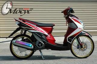 Foto Modifikasi Honda Beat Sporty
