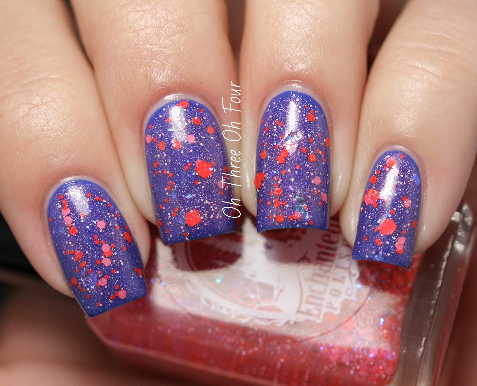 Enchanted Polish Flamingo Freckles Swatches